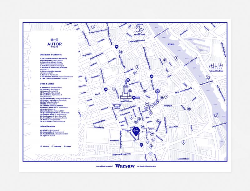 地図のデザイン