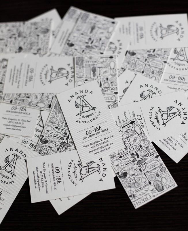 ショップカードの制作イメージ