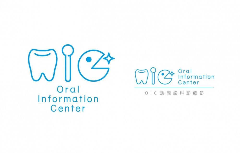 訪問歯科診療部のロゴデザイン