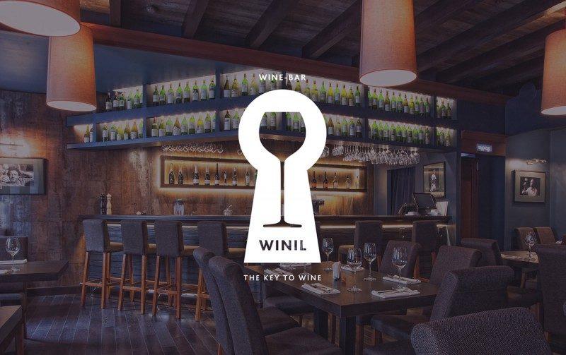 レストラン&ワインバーのロゴ2