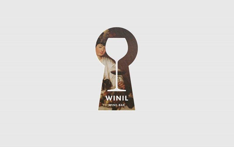 レストラン&ワインバーのロゴ