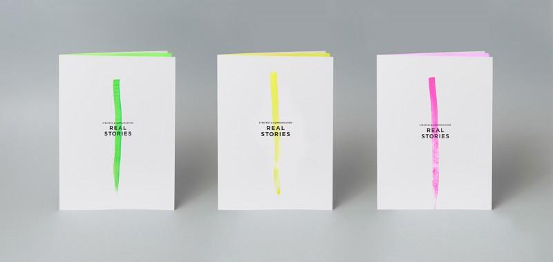 美容関連コンサル会社のパンフレットデザイン