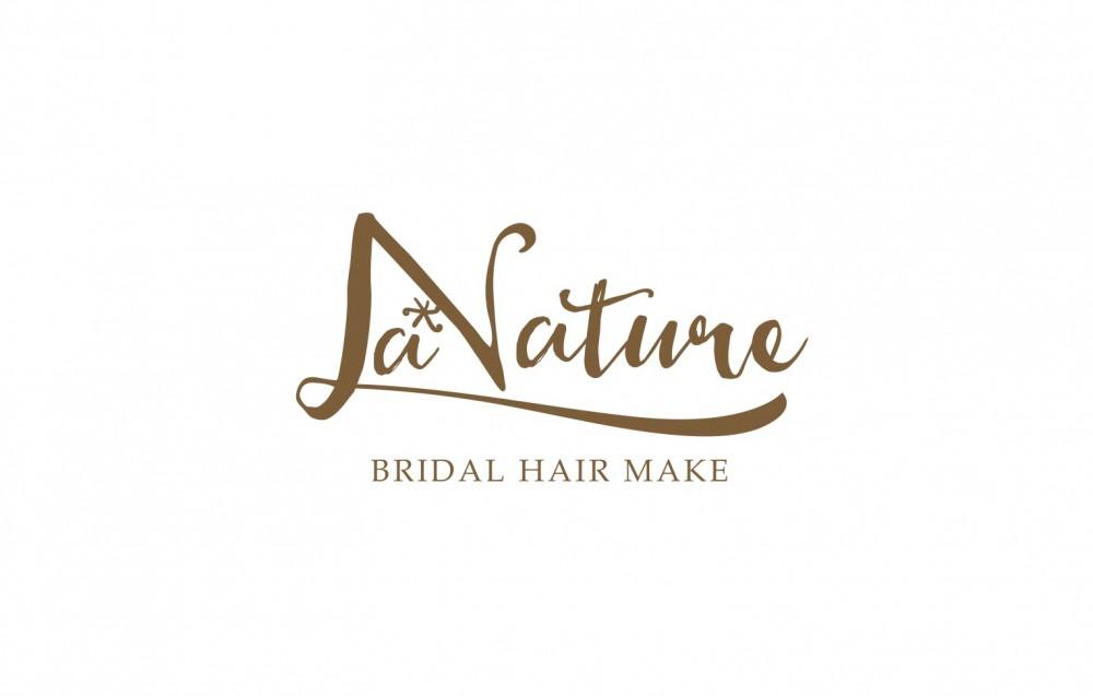 ブライダルヘアメイクのロゴデザイン