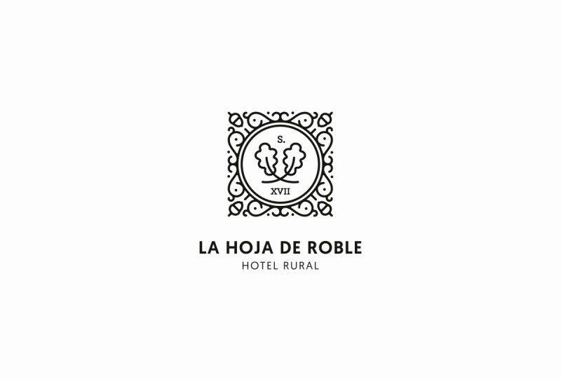 スペインの老舗ホテルのロゴ作成例