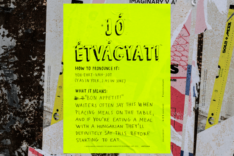 手書きで作られたポスターデザイン