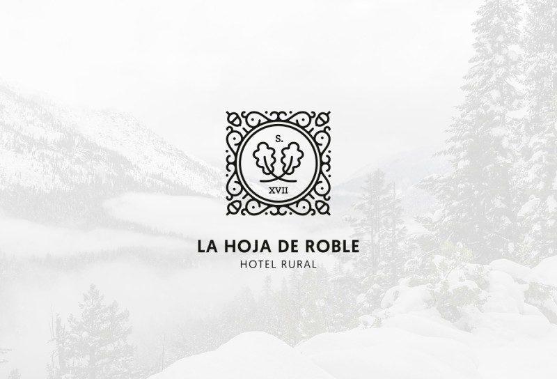 スペインの老舗ホテルのロゴデザイン