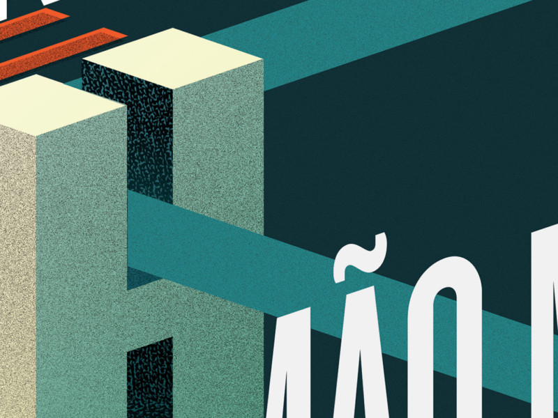 ポスターデザインの拡大図