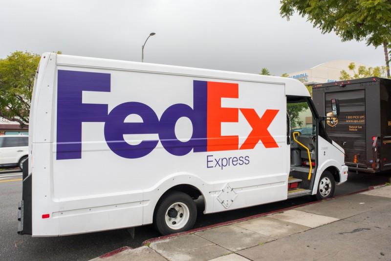 FedExのロゴ