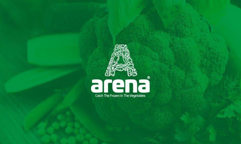 グリーンのブランドロゴ