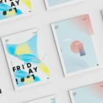 ノルウェーの気鋭グラフィックデザイナーによるポスターデザインたち
