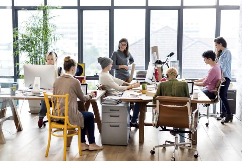 企業のデザインミーティング