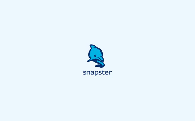写真アプリのロゴ作成例