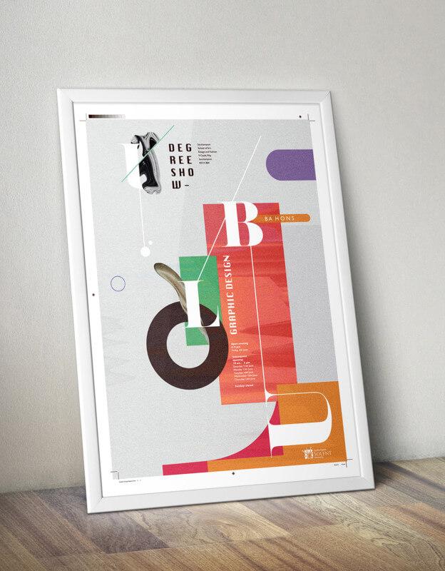 斬新なポスターデザイン