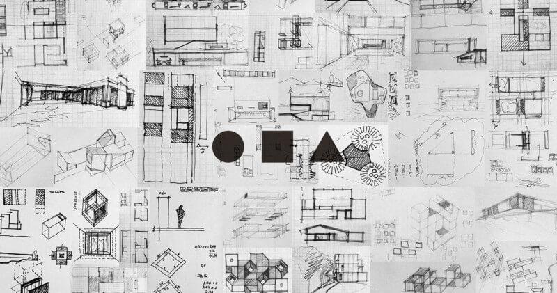 建築ラフイメージ