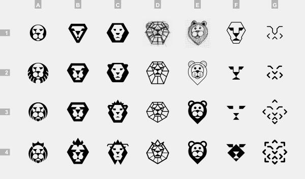 ロゴのスケッチとデザインプロセス