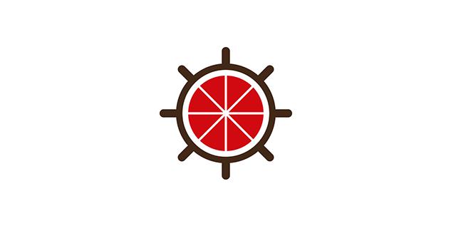 ピザ専門レストランのロゴデザイン
