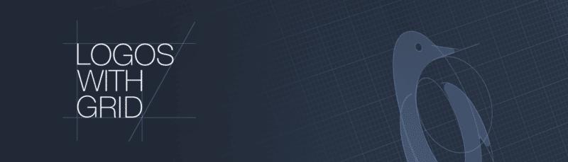 グリッドシステムを使ったロゴデザイン