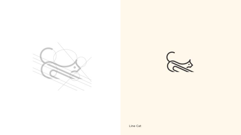 猫のロゴマーク