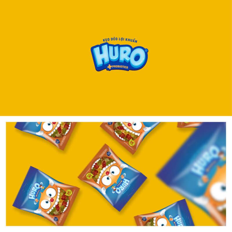 グミキャンディのロゴデザイン