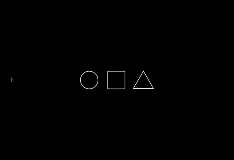 シンプルな幾何学図形