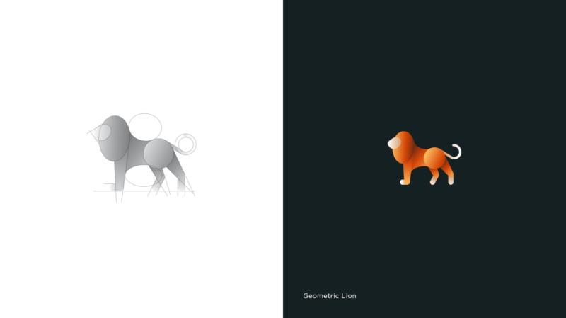 ライオンのロゴマーク