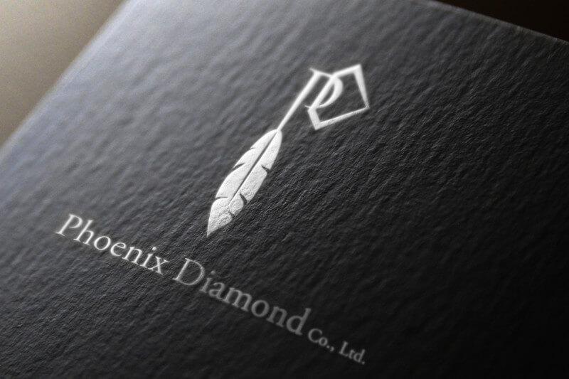 ジュエリーメーカーの企業ロゴ作成例