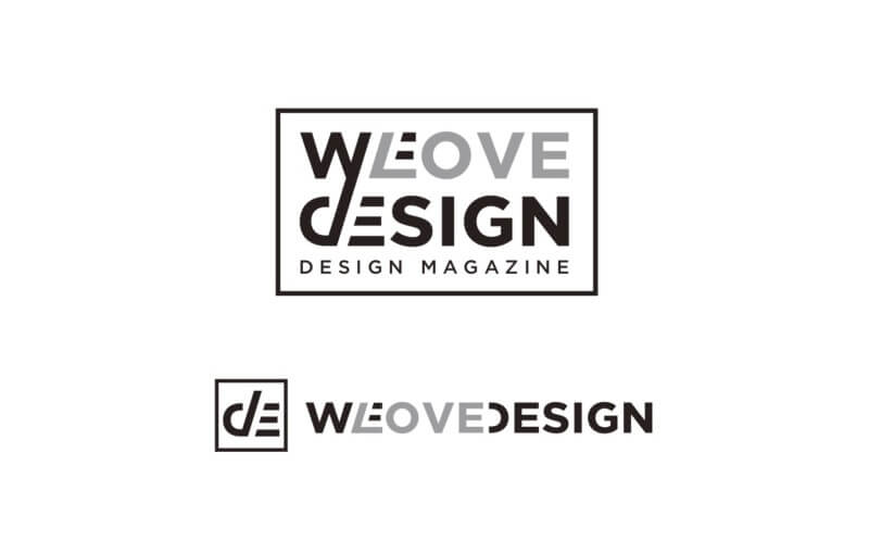デザインWEBマガジンのロゴ制作例