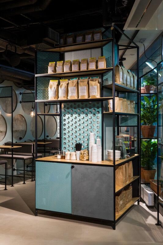カフェのインテリアデザイン
