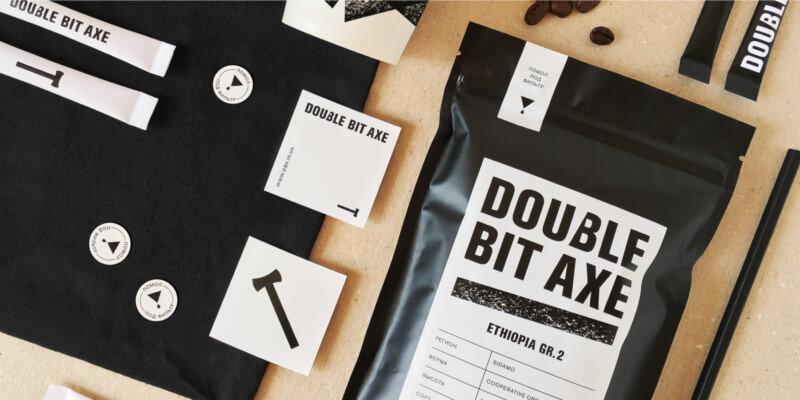 コーヒー専門店のロゴ