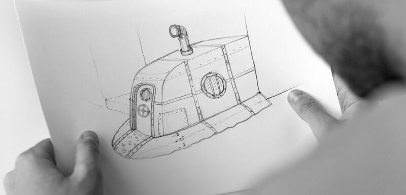 パブのエントランスデザイン