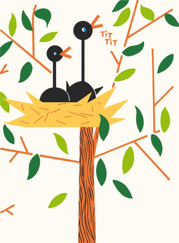 ジクレー印刷のポスターデザイン作成例1