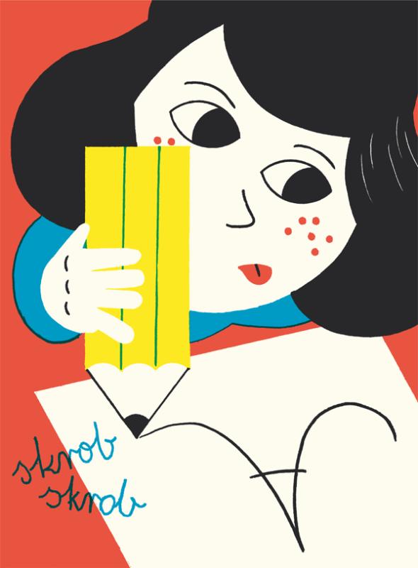 ジクレー印刷のポスターデザイン作成例2