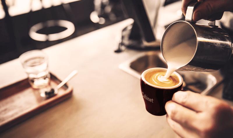 コーヒーカップのデザイン