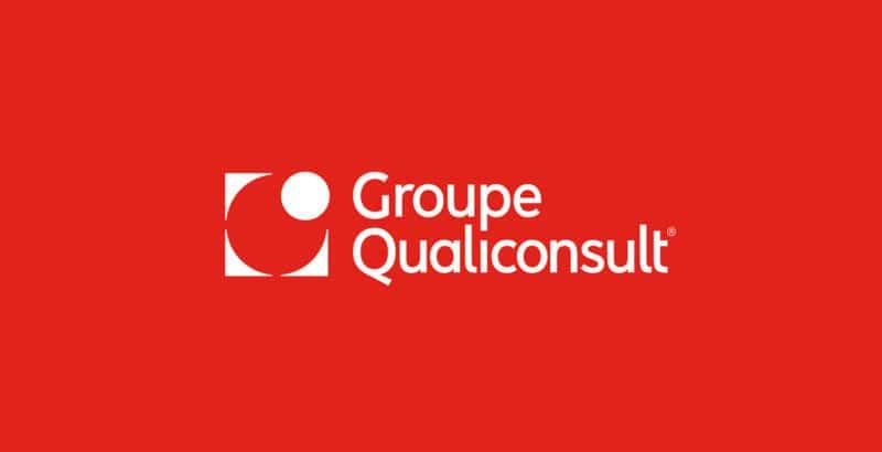 建設コンサル会社のロゴ作成例