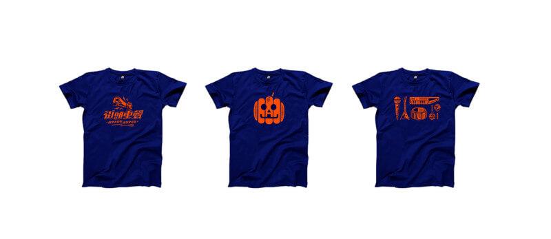 Tシャツのデザイン作例
