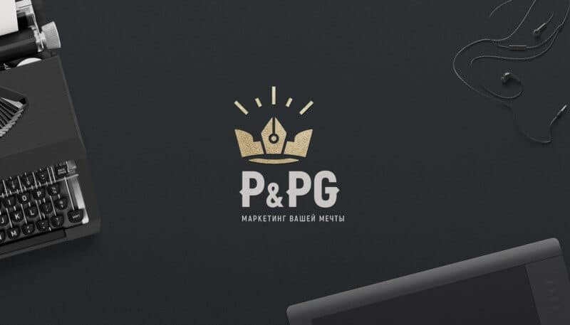 マーケティング会社のロゴデザイン