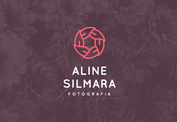 女性フォトグラファーのロゴマーク