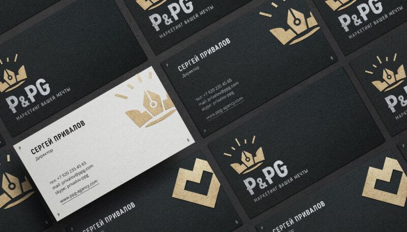 マーケティング会社のロゴ作成事例