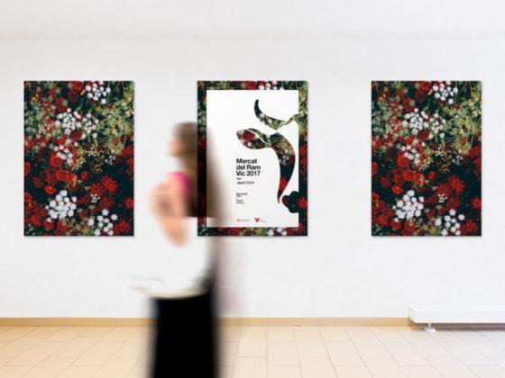 ラインやグリッドが美しいイベントポスター