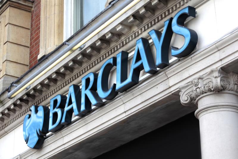 バークレイ銀行のロゴデザイン