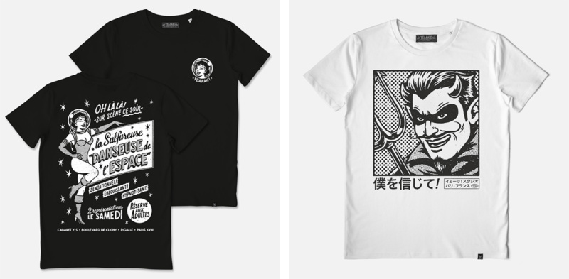 レトロなTシャツデザイン制作例4