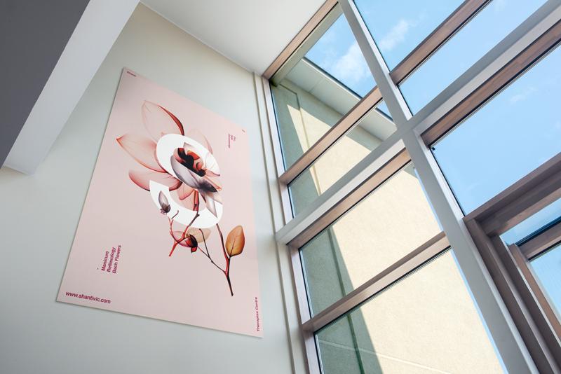 エステティックセンターのポスター作成例