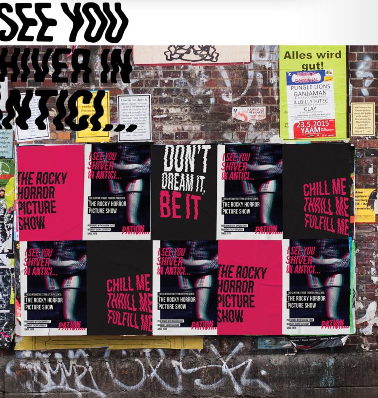 映画イベントのポスターデザイン