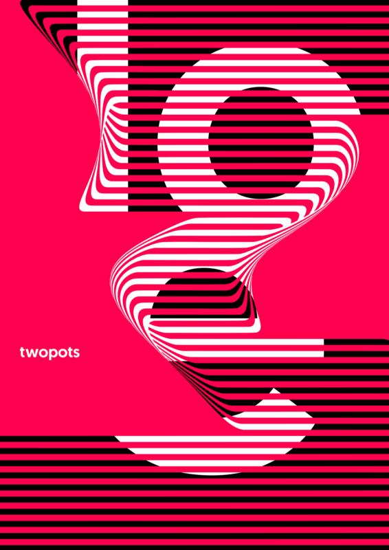 スイススタイルのポスターデザイン作成例2