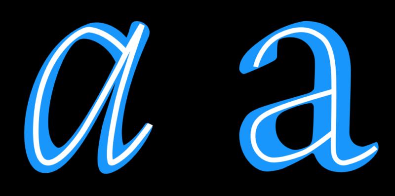 フォントの構造