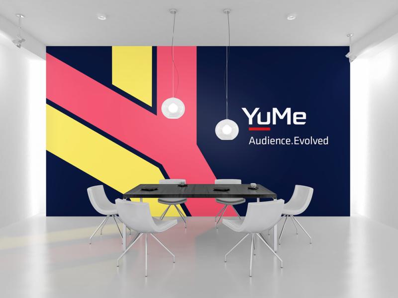 企業の壁面デザイン