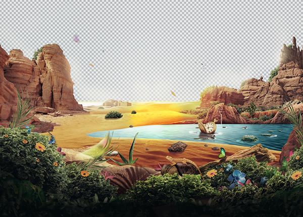 ポスターデザインの作成過程3