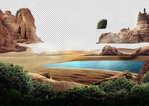 ポスターデザインの作成過程1