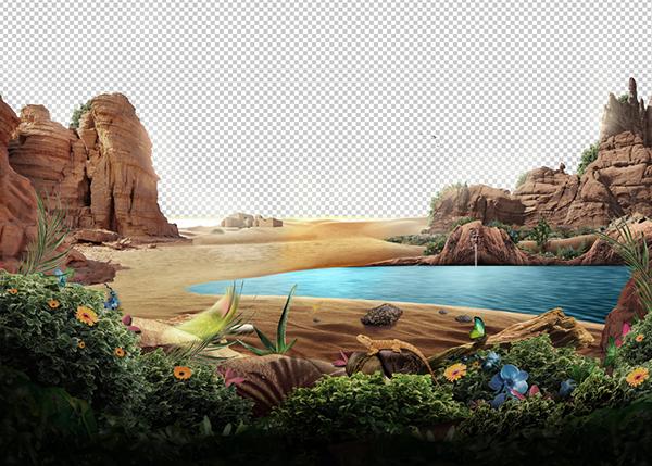 ポスターデザインの作成過程2