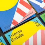 大胆で鮮やかな配色が眩しい、POPで親しみやすいイタリアのポスター&チラシデザイン